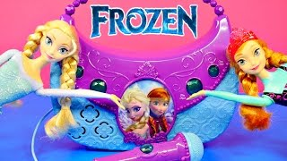 NEW FROZEN Sing Along Boombox Songs Let It Go And For The