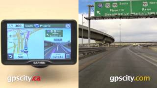 Garmin Nuvi 2797LMT: PhotoReal Junction View Street Sign