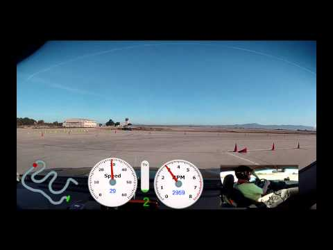 SFR SCCA Slush 2 Marina CA, Ed Runnion, DS 34 Hyundai Genesis Coupe, Run4, 43.5