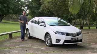Benê Gomes Testa O Toyota Corolla 2015