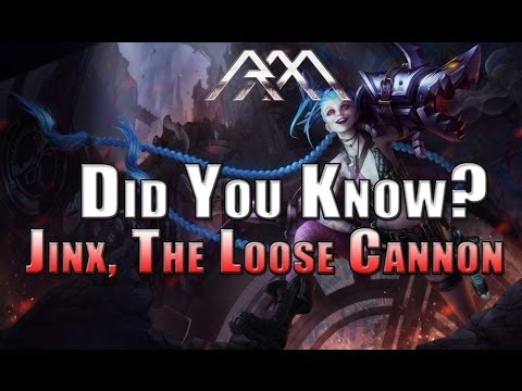 Did You Know? - Jinx - Ep #20 - League of Legends