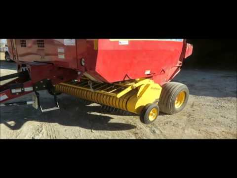2009 New Holland BR7070 round baler for sale | sold at auction March 11, 2015