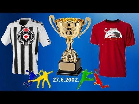 "RK ""Partizan"" – RK ""Lovćen"" 27.6.2002. Beograd"