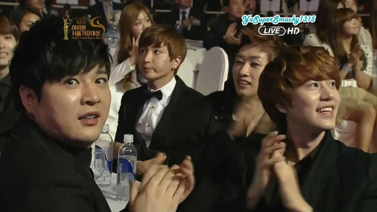120119 SMA - Super Junior off-stage cuts