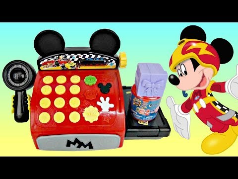 Disney Junior Mickey Mouse Clubhouse Cash Register with Minnie, Dory, Gil PLUSH Toy Surprises / TUYC
