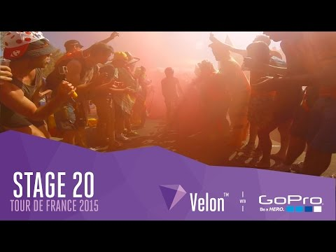 Tour de France Stage 20 - On Bike Highlights. Electric Atmosphere!