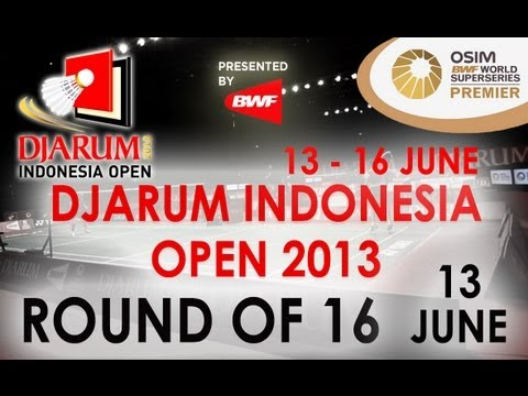R16 - XD - C. Langridge/H. Olver vs M. Rijal/D. Susanto - 2013 Djarum Indonesia Open