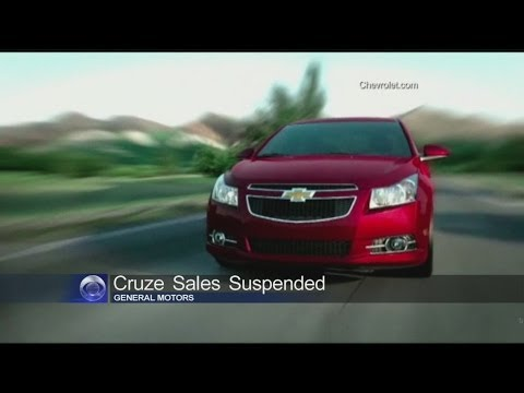 Chevy Cruze sales halted by General Motors