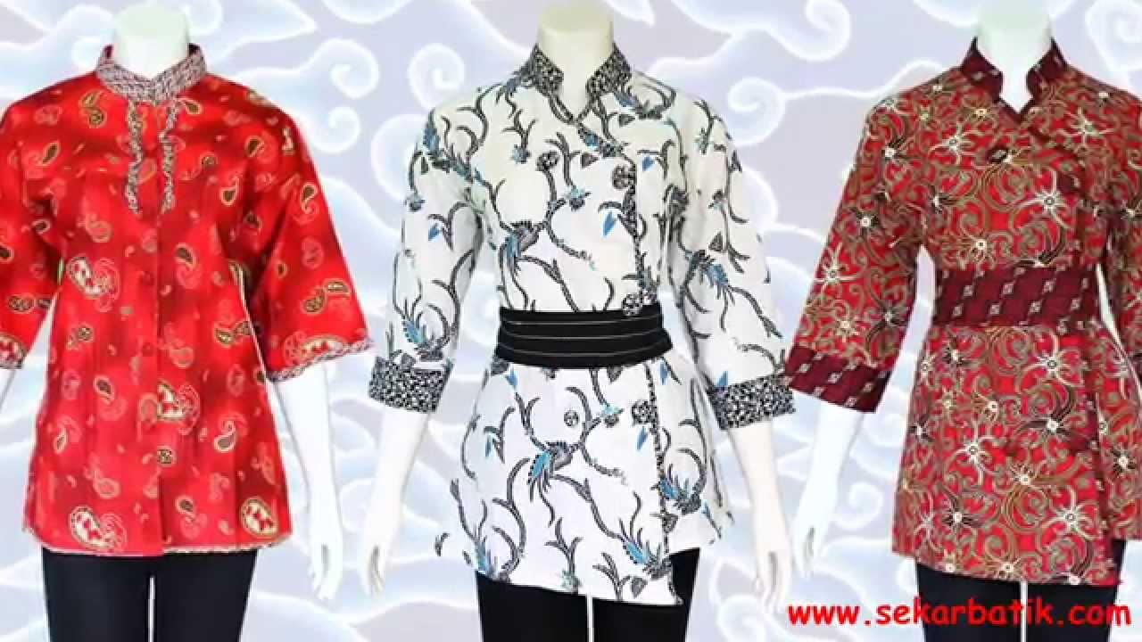 Baju Batik Wanita Modern Model Terbaru Youtube Gugusdepan Pramuka