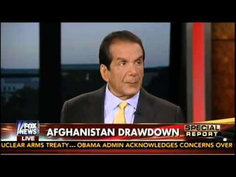 Krauthammer: Obama's Afghan Withdrawal Is 'Personal Narcissism'