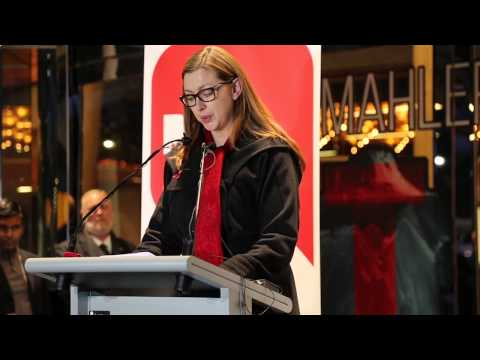 'Turning On AIDS 2014' Launch - Alischa Ross, YEAH, CEO