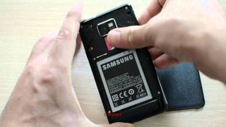 Samsung Galaxy S2 How To Remove Backside/battery/SIM/SD