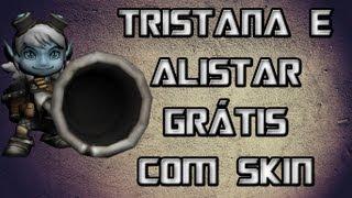 League Of Legends Como Ganhar Tristana E Alistar Grátis