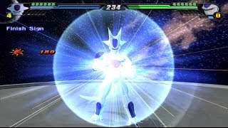 Frieza 5th Form Transformation VS Cooler Final Form