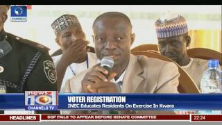INEC Begins Voters Registration Exercise Ahead Of 2019 Elections 27/04/17 Pt.2