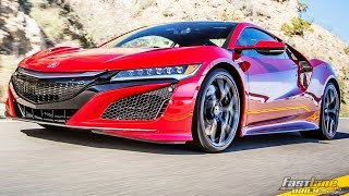 All-Electric Acura NSX - Fast Lane Daily