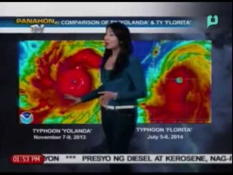 News@1 - Ulat Panahon (1:47 PM Report) - July 8, 2014