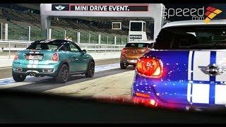 Mini Drive Event Yas Marina - تجربة سيارات ميني على حلبة ياس
