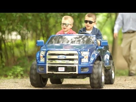 Car for Kids ► Ford F-150 Power Wheels