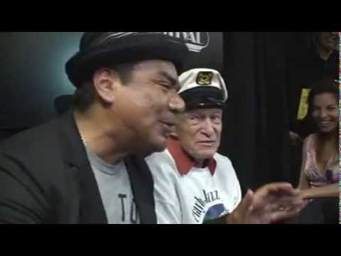 Playboy Jazz Festival Press Conference - Hugh Hefner & George Lopez, 06/15/13