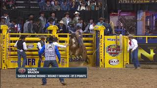 2017 Wrangler NFR Round 1 Highlights