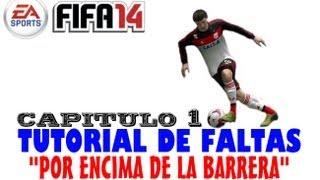 Fifa 2014. Tutorial de faltas 1
