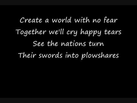 Michael Jackson - Heal The World (Lyrics)