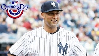 Derek Jeter discusses his emotions leading into his final Opening Day at Yankee Stadium