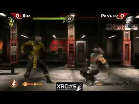 XRO#5 Mortal Kombat 9 Tournament Groups