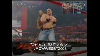 WWE Luta-Livre-na-TV SBT (John Cena VS HBK)