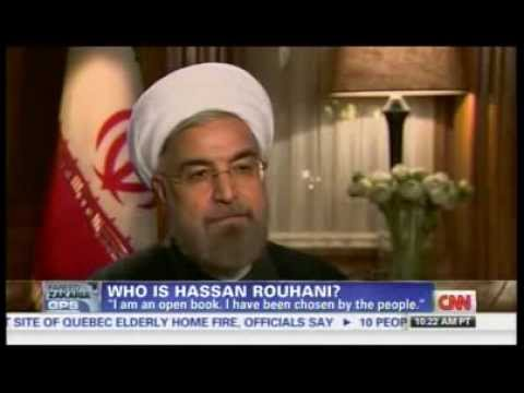 Hassan Rouhani on U.S.,Israel, Syria ! افتخار مصاحبه با حسن روحانی, نماینده ملایان در سوئیس