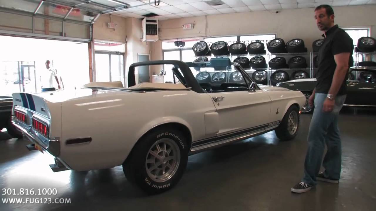 1968 ford shelby mustang gt350 convertible for sale for Garage ford saval valence