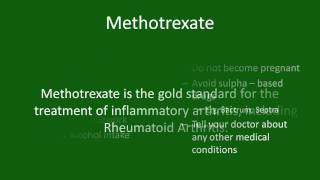 YouTube Video: Methotrexate for Rheumatoid Arthritis