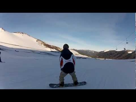 snowboard en Corralco.