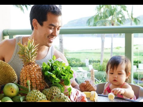 Kauai Farmers Market Haul (Hawaii)- BenjiManTV