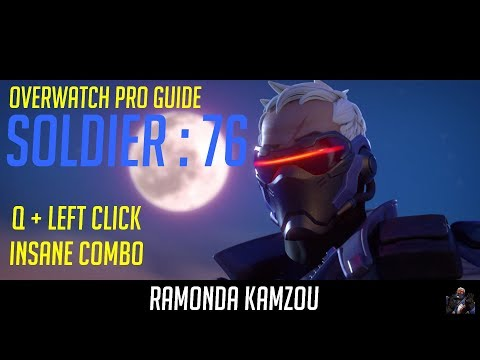 Overwatch Pro Guide - Soldier 76 - Q + Left Click insane combo