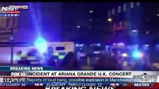 بالفيديو.. هكذا نجت المغنية الأمريكية أريانا من انفجار قاعة للحفلات بمانشستر |