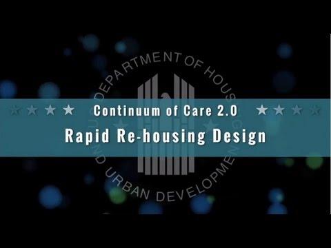 Rapid Re-housing Design Under the CoC Program