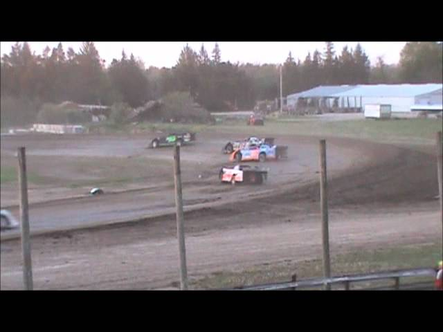 Brandon Thirlby #M14 Merritt Raceway Late Model Heat Race 5-12-12