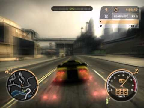 Need For Speed Most Wanted GF 6200 XFX Derrota a Karl Smit (Baron) Blacklist # 10