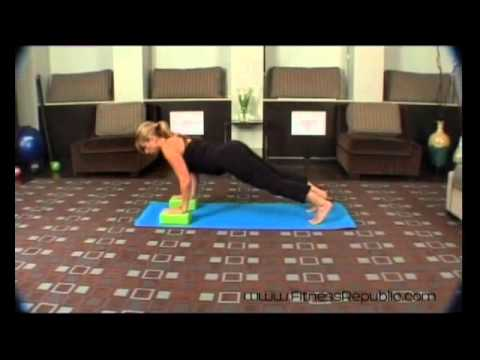Yoga Push Up (Chaturanga) - Fitness Republic