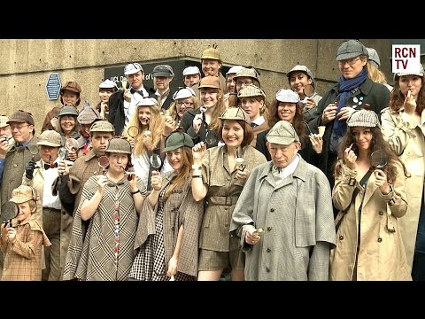 Sherlock Cosplay World Record Attempt