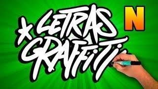 Abecedario De Graffiti # Letra N