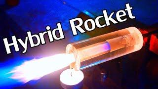 Building a DIY Transparent Hybrid Rocket Engine - NightHawkInLight