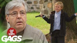 Srandy so zbraňami - skrytá kamera