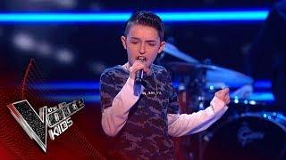 Ciaran Performs 'Sax': Blinds 2   The Voice Kids UK 2018