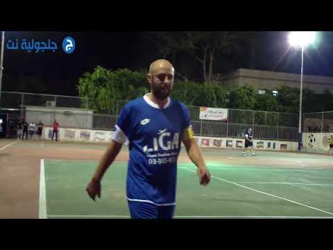 افتتاح دوري كرة القدم المصغر في جلجولية 3/8/2018 1- جلجولية نت -