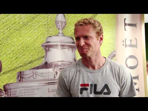 Moet Moments - Dmitry Tursunov - Aegon Championships