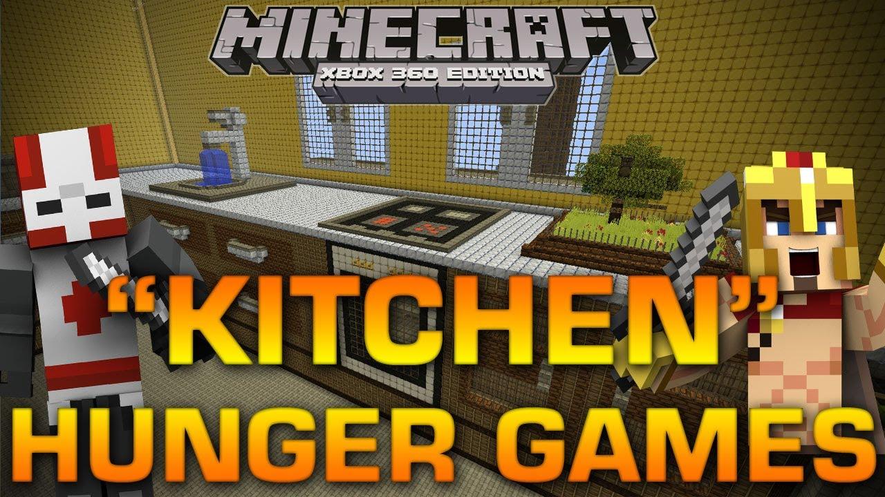 Minecraft xbox 360 kitchen hunger games w brethren for Minecraft kitchen ideas xbox