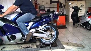 LR Motos Suzuki GSXR 1300 Hayabusa No Simulador De